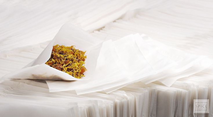 Make your own tea bags, Buy in bulk, Fill with Herbs