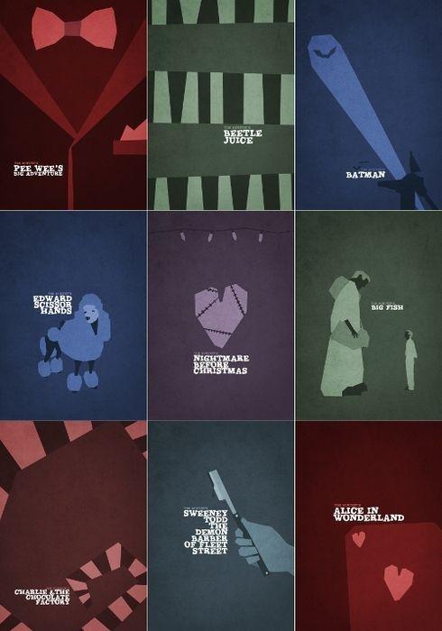Tim Burton films