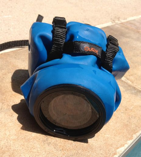 Starting to see some really affordable underwater cases for DSLRs. It's ON this summer.