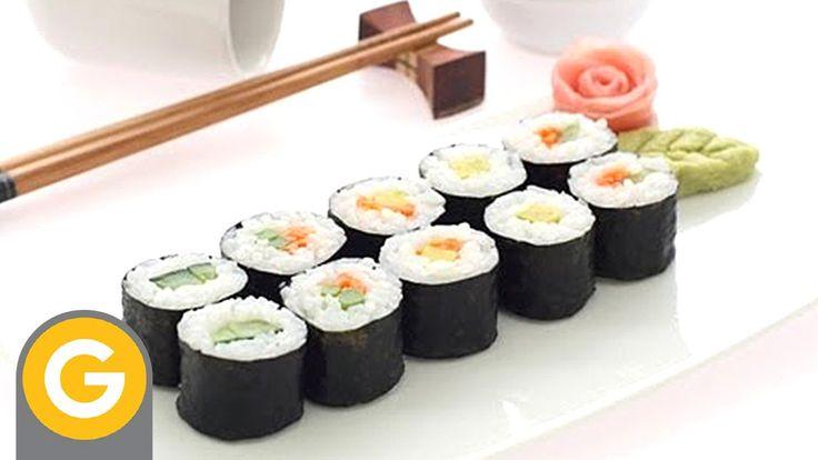 Mejores 94 im genes de fish and shellfish en pinterest - Cocinar sushi facil ...