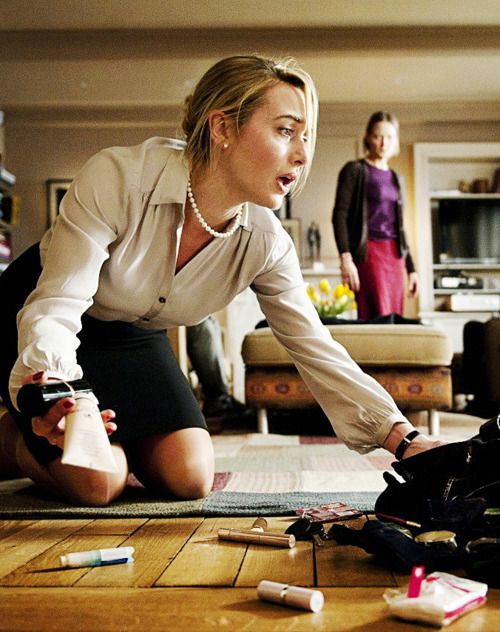 Kate Winslet & Jodie Foster in Carnage