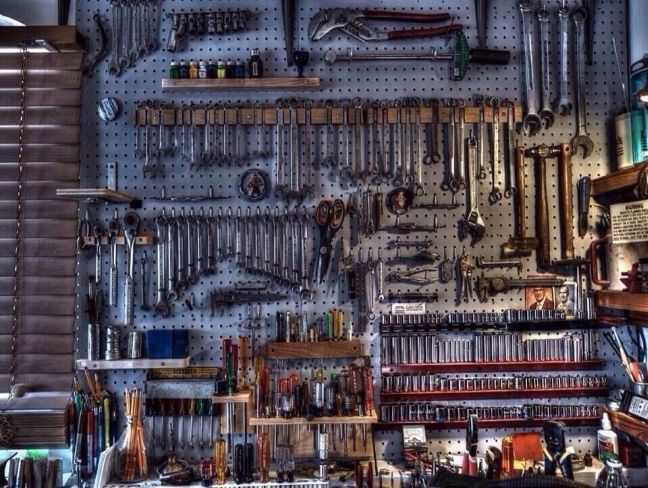 Organization Garage Tool Ideas Interesting Garage Tool