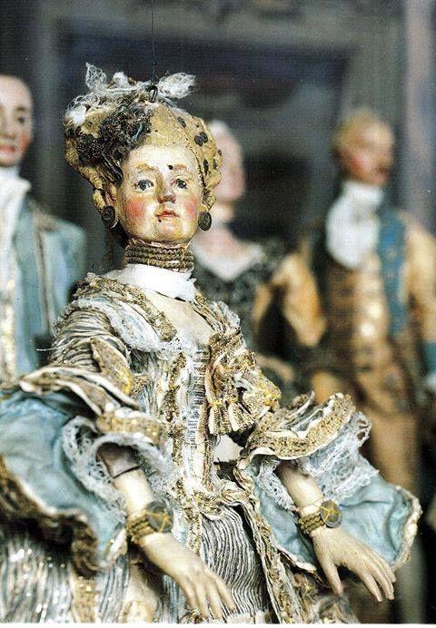marionetta, metà del '700, Bologna, Museo Davia Bargellini
