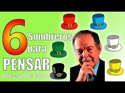 Seis sombreros para pensar - Edward de Bono - Resumen del libro en español - YouTube