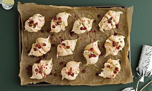 christmas meringues fruit nuts - Google Search