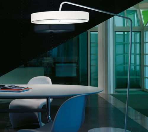 Contemporary Floor Lamp from Modu Luce