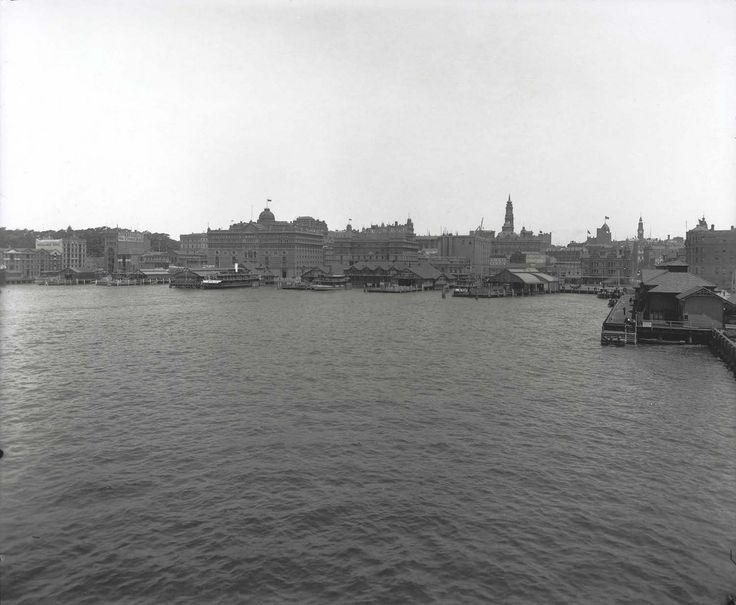 View of Circular Quay | by State Records NSW