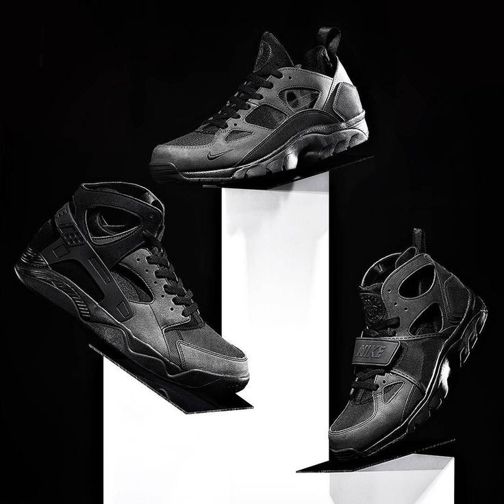 super popular 1b3b9 14bcd ... JUST LANDED - The Blackout Pack featuring the Air Flight Huarache Nike  Trainer Huarache Low Nike ...