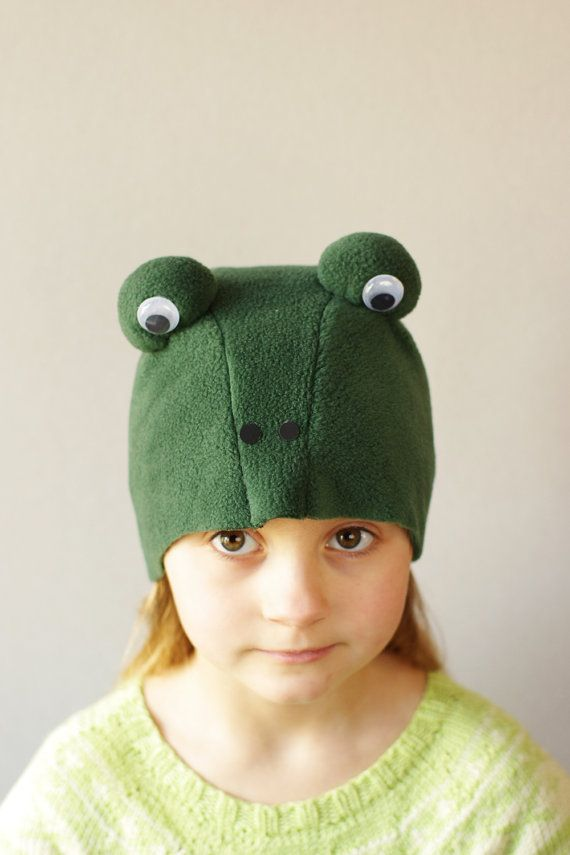 Frog costume hat  kids dress up hat kids costumes kids by ESTtoYou