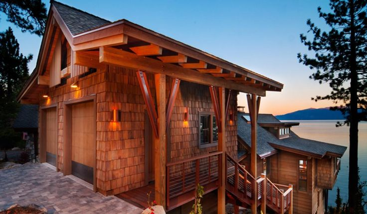 45 best exteriors residential images on pinterest for Lake tahoe architecture firms