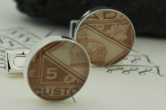 Cufflinks for Men  Genuine Upcycled Vintage by HudsonBlueArtisans, $49.00
