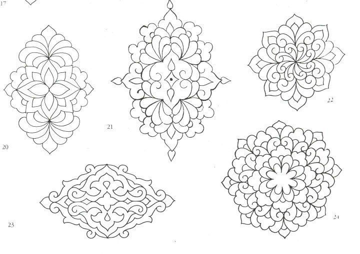Moroccan stencils