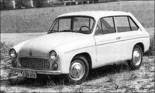 OG | 1971 FSO Syrena Kombi | Prototype