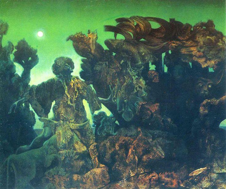 Epiphany, 1940 Max Ernst