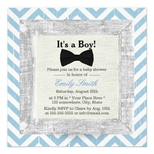 432 best Blue Bow Baby Shower Invitations images on Pinterest - email baby shower invitation templates