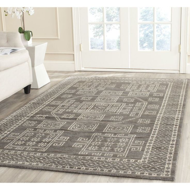 Another Rug Option. Safavieh Hand Knotted Kenya Grey Wool Rug X