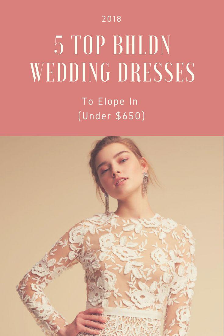 29 best Elopement Wedding Dresses images on Pinterest | Wedding ...