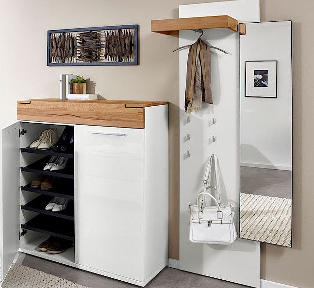 arte m feel garderobe gro 3 teilig schuhschrank f r ca. Black Bedroom Furniture Sets. Home Design Ideas