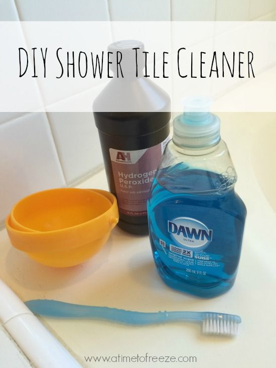 How To Clean Shower Tile U0026 Grout | House Cleaning Tips | Pinterest | Clean  Shower Tile Grout, Clean Shower Tiles And Clean Shower