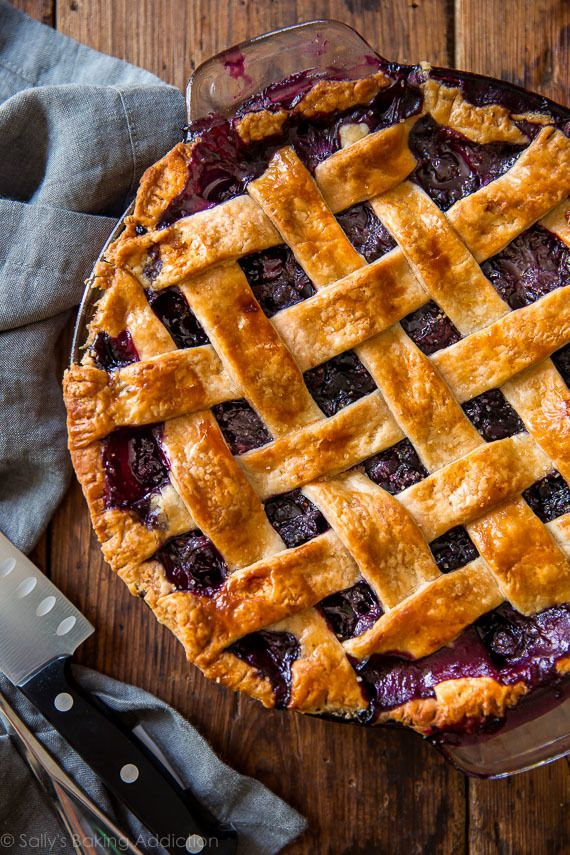 Simply the Best Blueberry Pie.