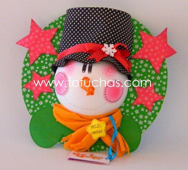 Inagenes de adornos de navidad en goma eva imagui - Adornos navidenos goma eva ...