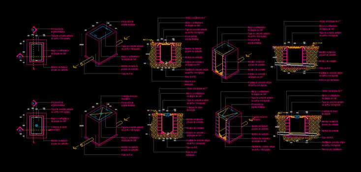 Sanitary registration type and colander (dwgAutocad drawing)