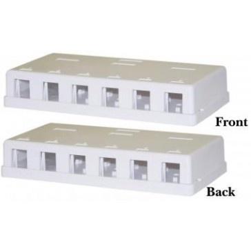 Twelve Way Keystone Surface Mount Box $17.00 ex GST