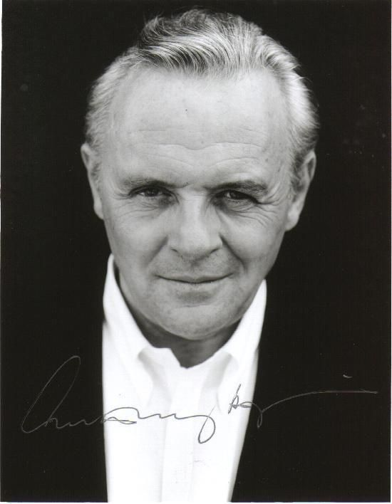 Sir Anthony Hopkins-he is THE man! And you know it. I saw him on an episode of Starsky and Hutch years ago. He was the villain reciting Shakespeare. I was young, but old enough to know he had WAY more talent than was typical as a guest star on Starsky and Hutch.