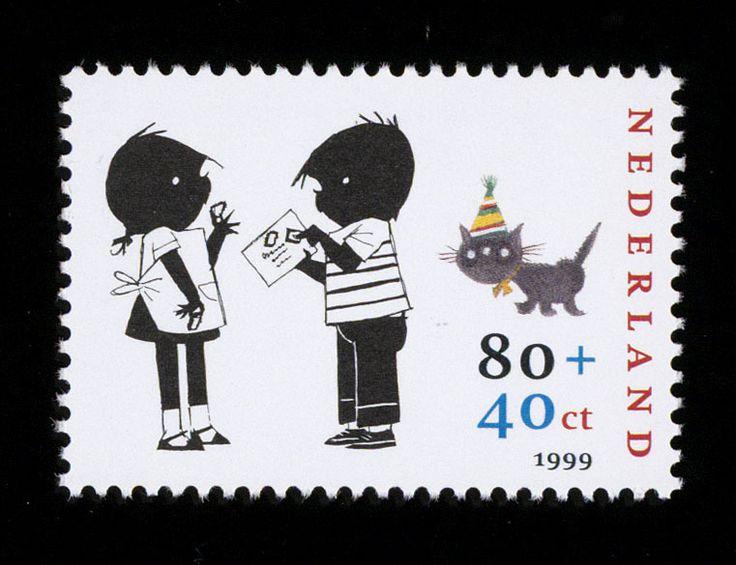 Postzegel Nederland 1999 Kinderpostzegels: Jip en Janneke