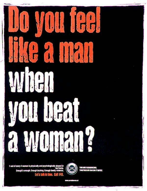 why do some men hit women