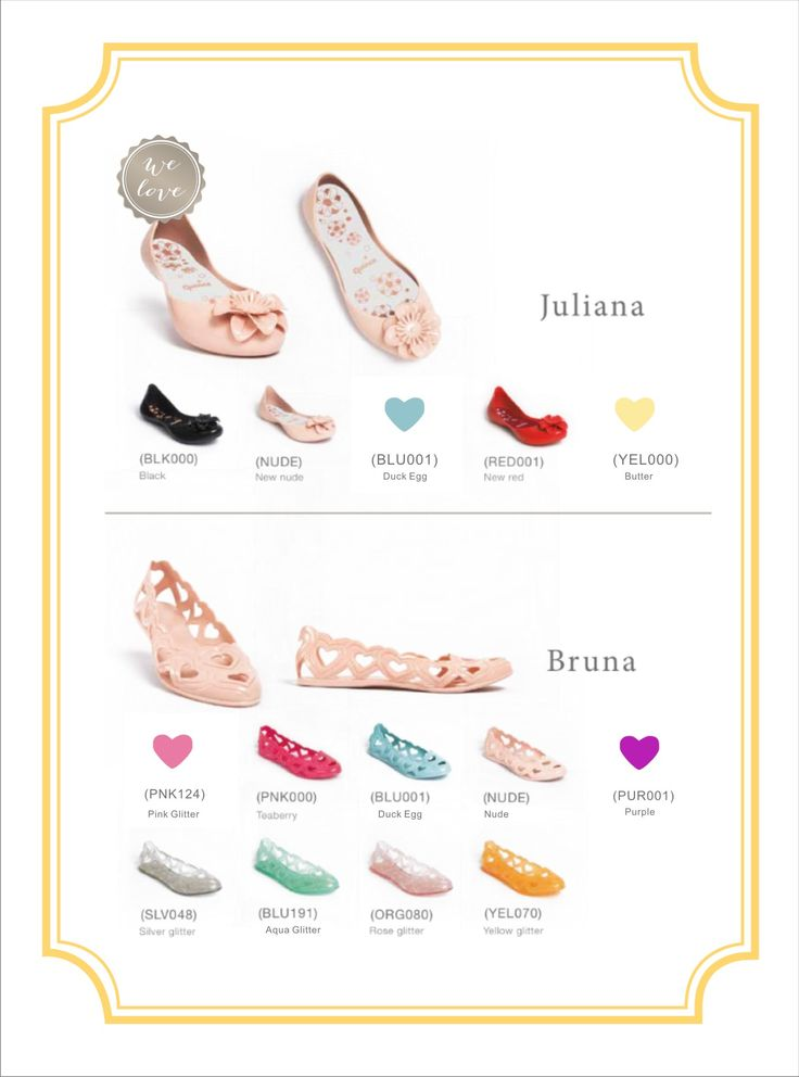 Juliana Flower and Bruna Jelly Shoes