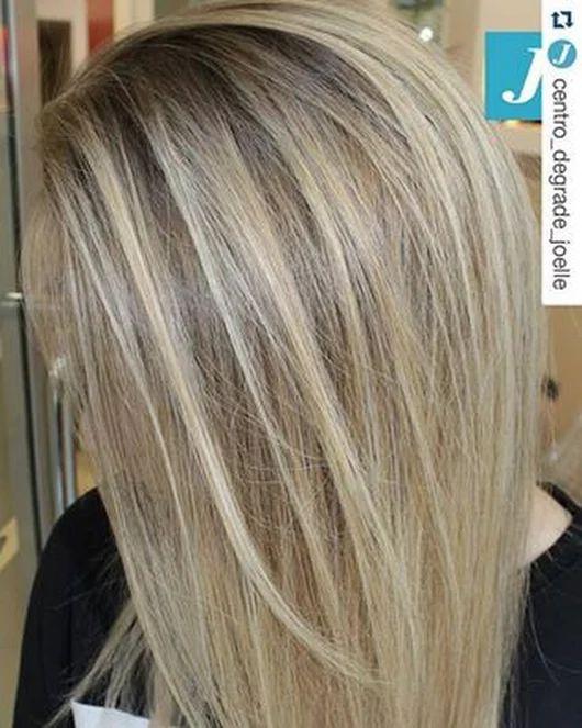 Ice Blonde _ Degradé Joelle  #cdj #degradejoelle #tagliopuntearia #degradé #igers #musthave #hair #hairstyle #haircolour #longhair #ootd #hairfashion #madeinitaly #wellastudionyc workhairstudiovittorio&tiziana #roma #eur