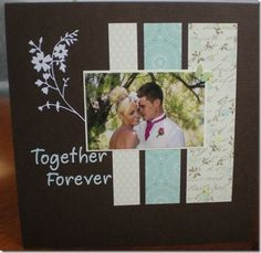 wedding with this ring scrapbook page - Google Search