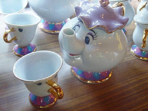 Beauty And The Beast Porcelain Tea Set Wish List Disney