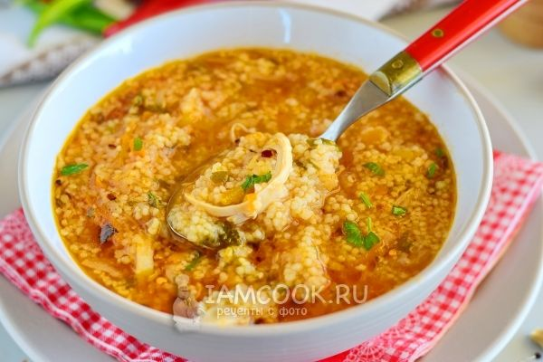 Рецепт марокканского куриного супа с кускусом