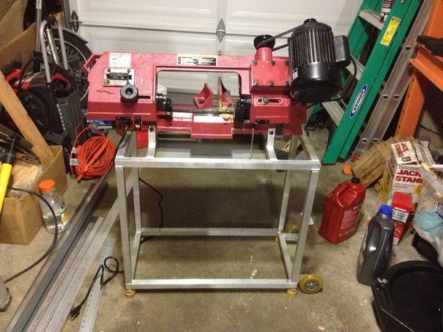 Another Harbor Freight Bandsaw Thread - Page 2