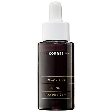 A natural serum that will give you GLOWING skin. // Korres' Black Pine Serum
