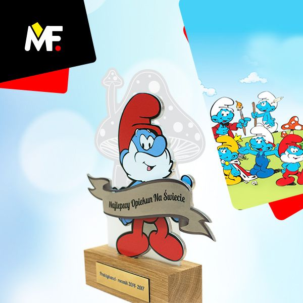 Our new project with tale theme - Papa Smurf is here :)