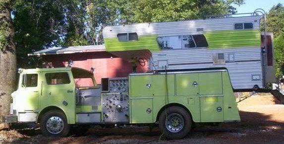 A New Use: Mack Fire Truck