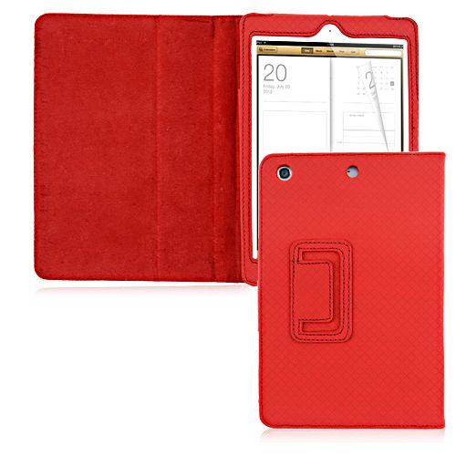 Black Friday Discount: PU Leather Smart Case for iPad Mini - Red #leather #smartcase #ipadmini #leathercase #blackfriday #discount $6.99