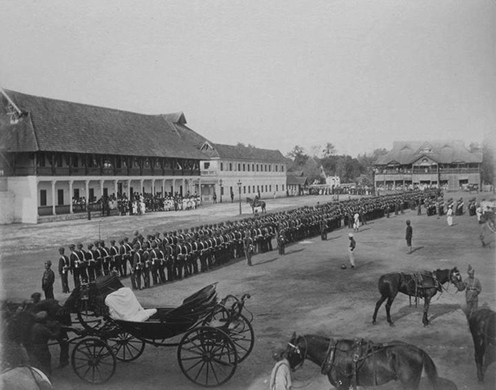 1809 ஆம் ஆண்டு பத்மநாபபுரம் கோட்டைஇருந்த தோற்றம்