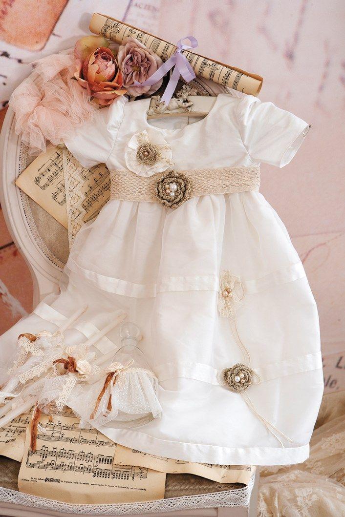 Christening Dress  Christening Gown Baptism Dress  Sty.No G 1009-1 www.babyhautecouture.com