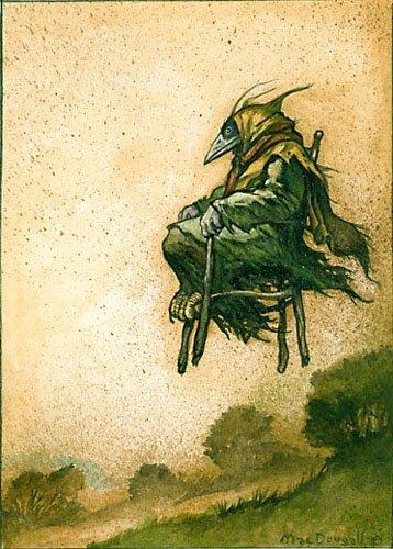 Crow Witch by Larry MacDougal