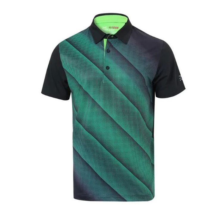 mens golf shirts quick dry golf Training shirts fall top sports striped shirts polo clothing quick dry tops outdoor wear