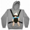 The Hangover Baby Carrier Carlos Funny Movie Pullover Hoodie