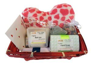 I Love You #Valentine's Day Deluxe Organic Gift Basket