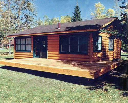Mvl2428 24x28 cabin at menards country house pinterest for Complete barn home kits