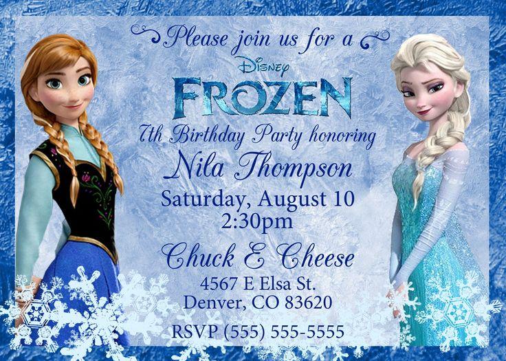 The 25+ best Free frozen invitations ideas on Pinterest   Frozen ...