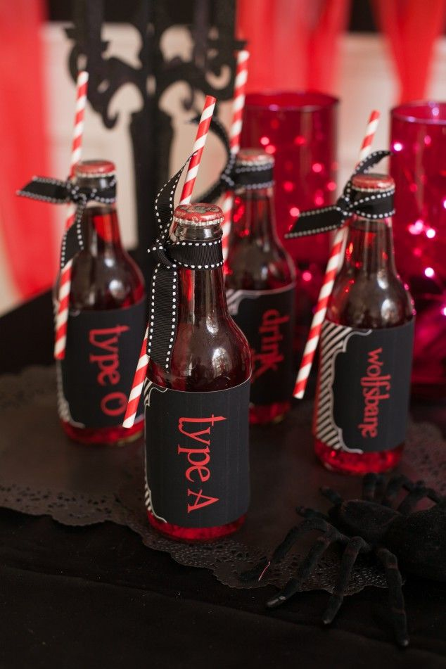 fun drink ideas for a halloween party - Halloween Theme Party Ideas