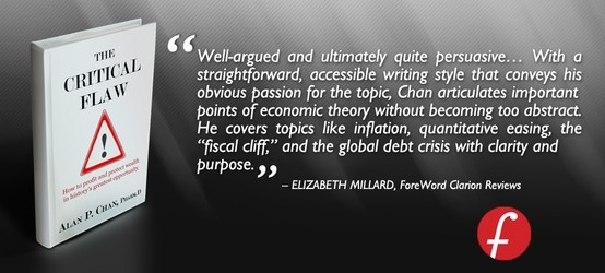 """Thank you Elizabeth Millard for providing an endorsement for """"The Critical Flaw: How to profit and protect wealth in history's greatest opportunity"""". Your effort is much appreciated.  Read our latest endorsements and reviews on www.thecriticalflaw.com! Enjoy!    http://thecriticalflaw.com/"""